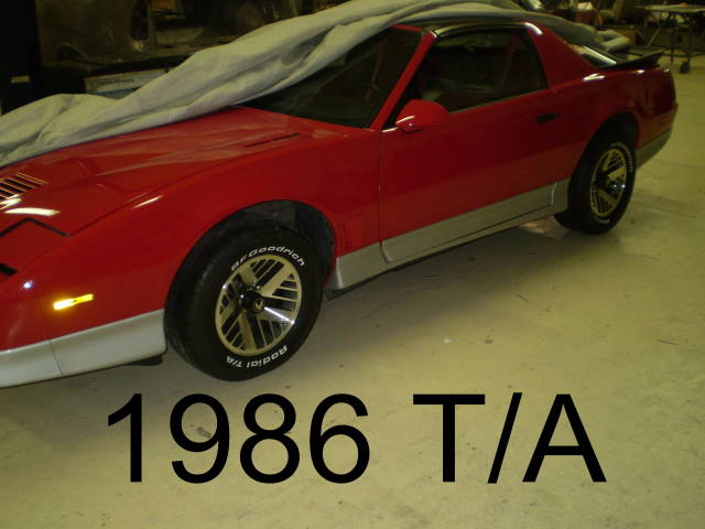 Trans Am Red on Chevy Magnum