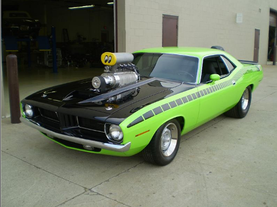 '72 Cuda Modifications