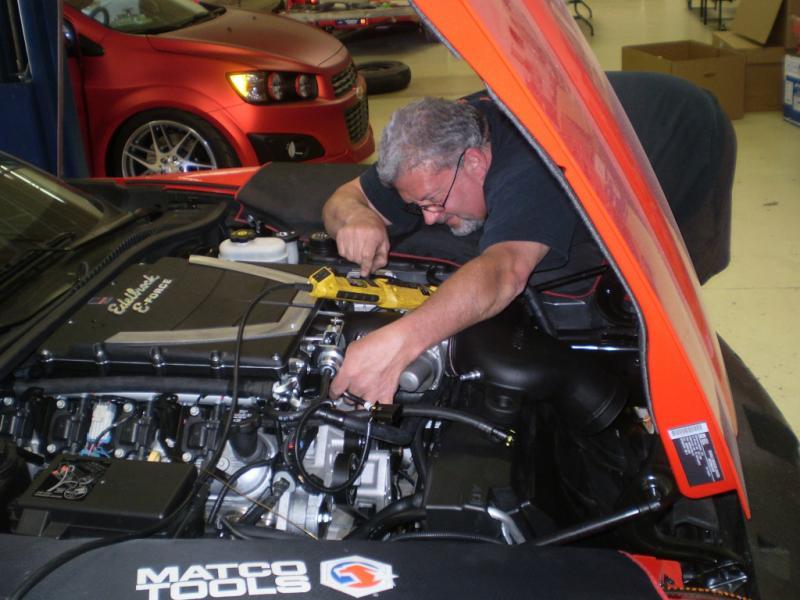 2010 C6 Edelbrock Supercharger American Racing Headers