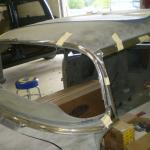 55 Chevy windshield moldings