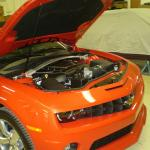 2011 Chevy Camaro supercharger Edelbrock