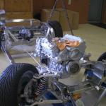 1978 Corvette upgrade stainless steel frame