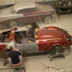 Body work on 78 Corvette