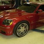Dodge Magnum hood upgrade
